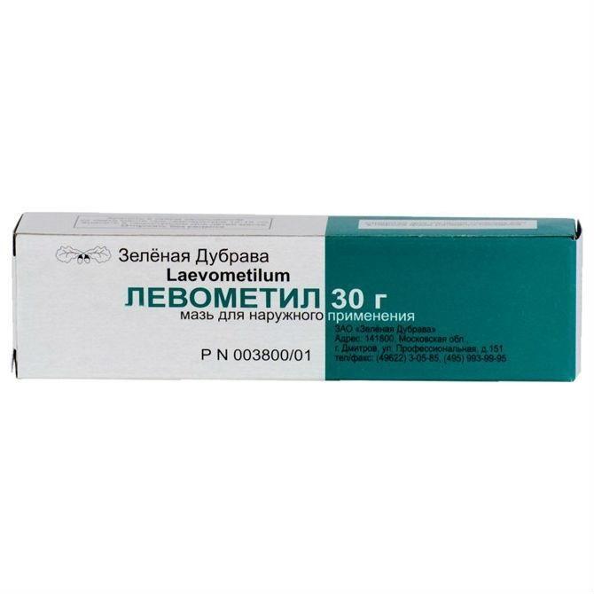 Левометил, мазь для наружного применения, 30 г, 1 шт. — купить в Белгороде, инструкция по применению, цены в аптеках, отзывы и аналоги. Производитель Зеленая Дубрава