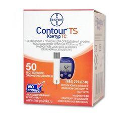 Тест-полоски Contour TS, тест-полоска, 50 шт.