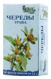 Череды трава, сырье растительное-порошок, 1.5 г, 20 шт.