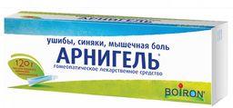 Арнигель, гель для наружного применения гомеопатический, 120 г, 1 шт.