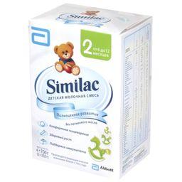 Similac 2, смесь молочная сухая, для детей от 6 до 12 месяцев, 350 г, 2 шт.