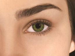 Alcon Air Optix Colors цветные контактные линзы, -0,00 D, Gemstone green, 2 шт.