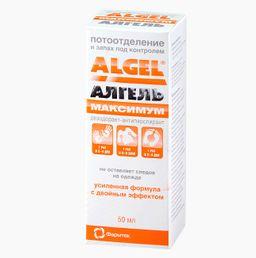 Алгель Максимум дезодорант-антиперспирант, 50 мл, 1 шт.