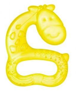 Мир детства прорезыватель Жираф/Слон 4 мес+, арт. 25072, в ассортименте, 1 шт.