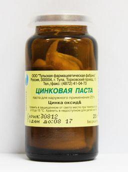 Цинковая паста, паста для наружного применения, 25 г, 1 шт.