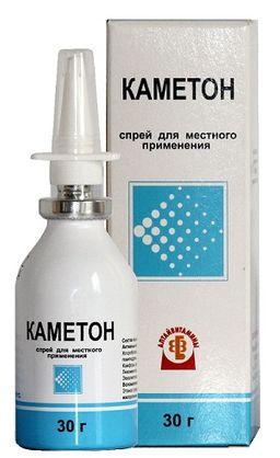 Каметон, спрей для местного применения дозированный, 30 г, 1 шт.