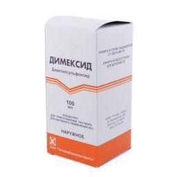 Димексид, 990 мг/мл, концентрат для приготовления раствора для наружного применения, 100 мл, 1 шт.