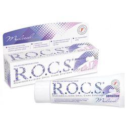 ROCS Medical Гель для чувствительных зубов Sensitive, без фтора, гель для полости рта, 45 г, 1 шт.