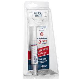 Global White карандаш отбеливающий для зубов, гель, 5 мл, 1 шт.