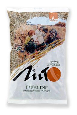 Отруби хрустящие с кальцием Лито ржаные, гранулы, с кальцием, 200 гр., 1 шт.