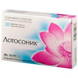 Лотосоник, таблетки, покрытые пленочной оболочкой, 20 шт.
