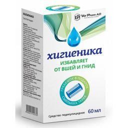 Хигиеника, шампунь, 60 мл, 1 шт.