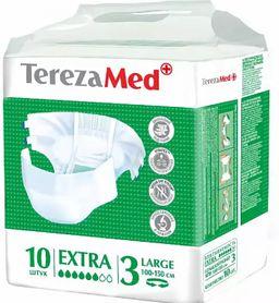 Подгузники TerezaMed Extra, Large L (3), 100-150 см, 10 шт.