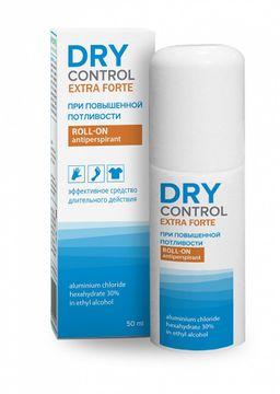 Dry Control Extra Forte роликовый антиперспирант 30%, 50 мл, 1 шт.