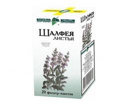 Шалфея листья, сырье растительное-порошок, 1.5 г, 20 шт.