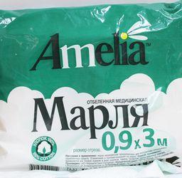 Марля медицинская нестерильная Амелия, 0.9 м х 3 м, 1 шт.
