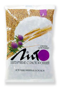 Отруби хрустящие с кальцием Лито пшеничные с расторопшей, гранулы, 200 г, 1 шт.
