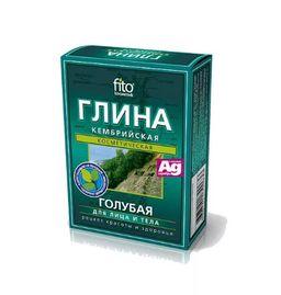 Глина голубая Кембрийская, 100 г, 1 шт.