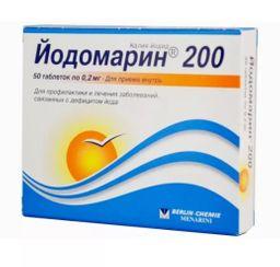 Йодомарин200, 200 мкг, таблетки, 50 шт.