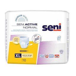 Подгузники-трусы для взрослых Seni Active Normal, Extra Large XL (4), 120-160 см, 10 шт.