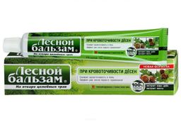 Лесной бальзам Зубная паста с экстрактами коры дуба и пихты, паста зубная, профилактическая, 75 мл, 1 шт.