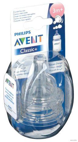 Соски Philips AVENT переменный поток, 2 шт.