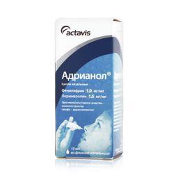 Адрианол, капли назальные, для взрослых, 10 мл, 1 шт.