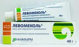 Левомеколь, мазь для наружного применения, 40 г, 1 шт.