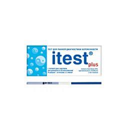 Itest plus Тест на беременность, 1 шт.