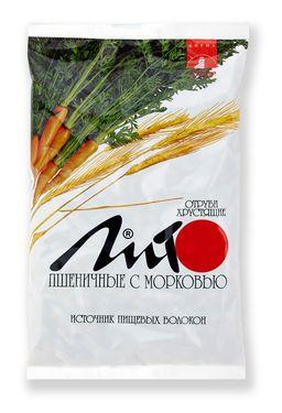 Отруби пшеничные хрустящие Лито с кальцием и морковью, гранулы, 200 г, 1 шт.