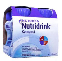 Nutridrink compact protein, жидкость для приема внутрь, с нейтральным вкусом, 125 мл, 4 шт.