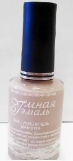Умная эмаль Укрепитель ногтей Слоновая кость, № 141, 11 мл, 1 шт.