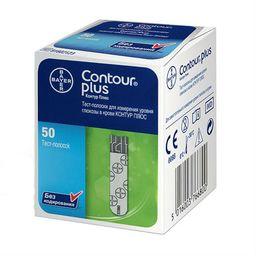 Тест-полоски Contour Plus, тест-полоска, 50 шт.