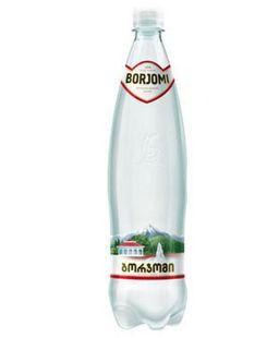 Вода минеральная Боржоми, лечебно-столовая газированная, в пластиковой бутылке, 0.5 л, 1 шт.