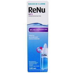 ReNu MPS для чувствительных глаз, раствор для обработки и хранения мягких контактных линз, 240 мл, 1 шт.