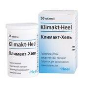 Климакт-Хель, таблетки для рассасывания гомеопатические, 50 шт.