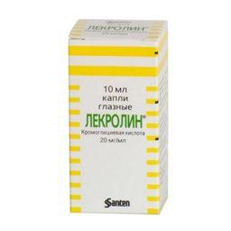 Лекролин, 20 мг/мл, капли глазные, 10 мл, 1 шт.