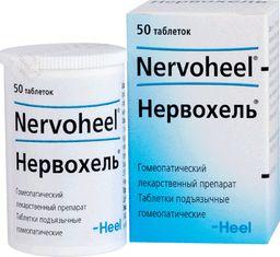 Нервохель, таблетки подъязычные гомеопатические, 50 шт.