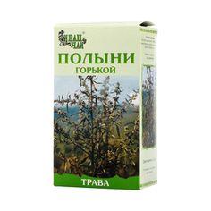 Полыни горькой трава, сырье растительное измельченное, 50 г, 1 шт.