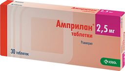 Амприлан, 2.5 мг, таблетки, 30 шт.