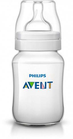 Бутылочка Philips AVENT Classic+ полипропиленовая, 260 мл, 1 шт.