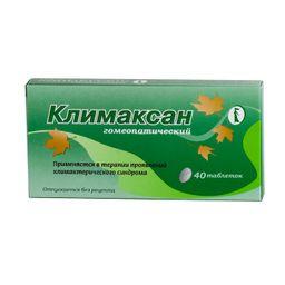 Климаксан гомеопатический, таблетки для рассасывания гомеопатические, 40 шт.